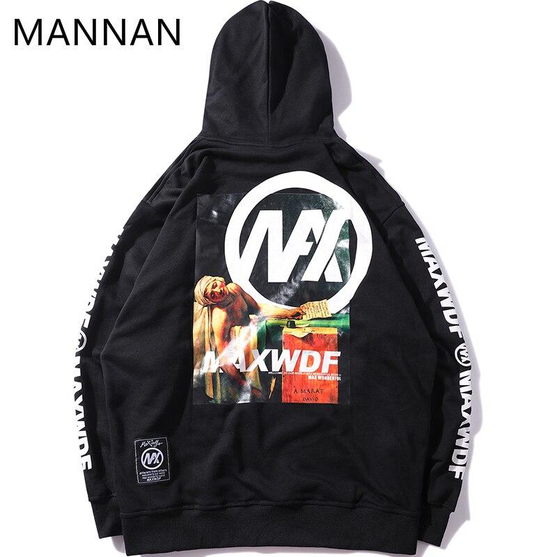 MANNAN 3d Motif Drle Impression Sweats Capuches Hommes Coton Harajuku Pull Capuche Streetwear Hommes Vtements