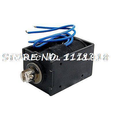 25mm Stroke Pull Type DC Solenoid Electromagnet 0.69A dc 12v 0 48a stroke 0 08kg force pull type tubular solenoid electromagnet