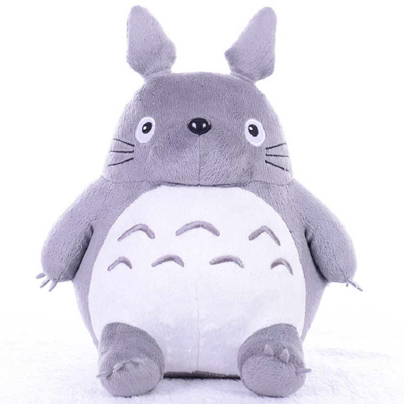 Totoro Plush Toys Soft Stuffed Animal Cartoon Pillow Cushion Cute Fat Cat Chinchillas Children Birthday Christmas Gift