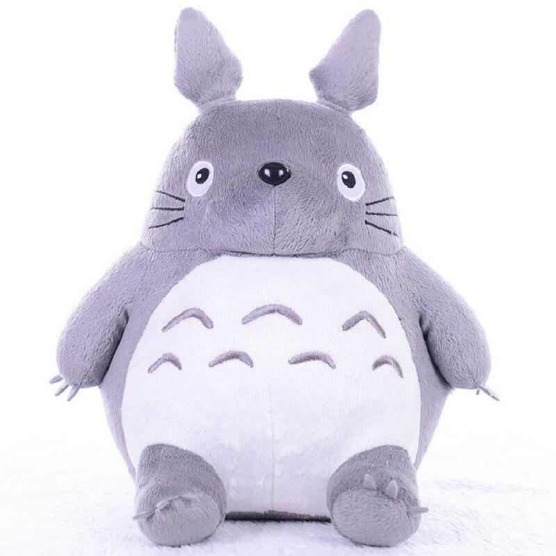 Totoro Plush Toys Soft Stuffed Animal Cartoon Pillow Cushion Cute Fat Cat Chinchillas Children Birthday Christmas Gift