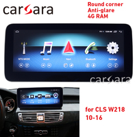 W218 Android multimedia CLS Class touch screen round corner 10.25 monitor anti glare Navigation display 4g ram GPS radio player