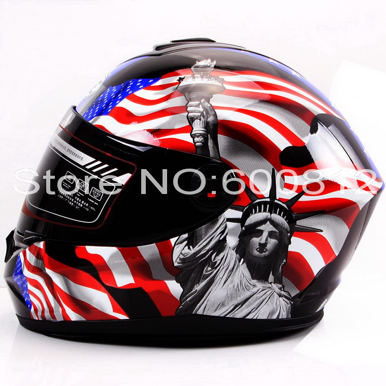 ФОТО 2016 New Eternal YOHE Full Face motorcycle helmet winter seasons ABS Motorcycle Racing helmets YH966 14 colors size M L XL XXL