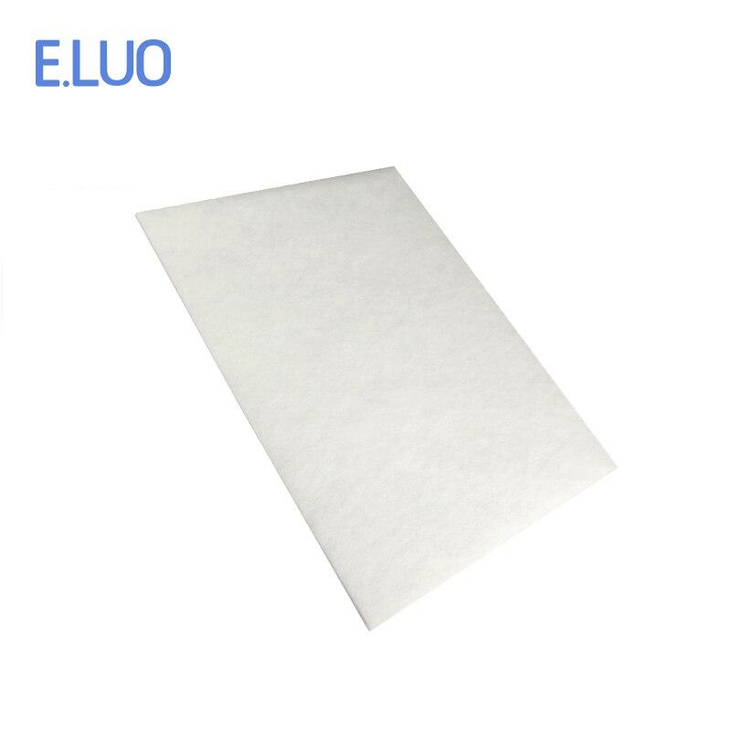 1 компл. Замена портативный белый хлопковые фильтры с высокое качество очиститель воздуха части