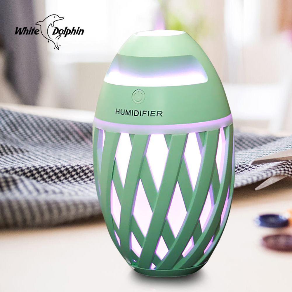 все цены на White Dolphin USB Air Humidifier Aromatherapy Diffuser Mini Mist Maker Fogger 7 Color Led Changing Essential Oil Diffuser USB онлайн
