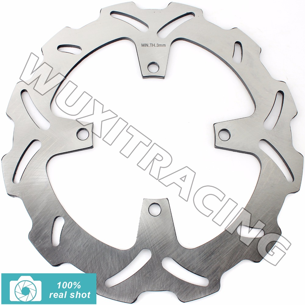 BIKINGBOY 316MM Motorcycle New Front Brake Disc Rotor for KAWASAKI KX 125 250 2003 2004 2005 KX 250 F KX250F 2004 2005 keoghs motorcycle brake disc brake rotor floating 260mm 82mm diameter cnc for yamaha scooter bws cygnus front disc replace