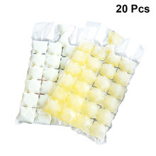 20pcs Disposable Ice Cube Bags Homemade Ice Maker Self-Sealing Frozen Ice Mold Drinking Tools For Home Travel Outdoors(China)