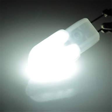 Купить с кэшбэком 10pcs G4 led 3W 12*2835SMD 300-360 LM Spot Lights T Decorative Corn Bulbs Bi-pin Light AC220 V Replace Halogen Lamp 360 Degree