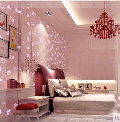Liuminous Wallpaper for Kids Bedroom Boys Girls Living Room Non ...