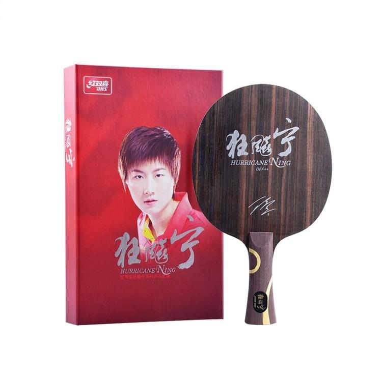DHS Hurricane Ning ракетка для настольного тенниса Спортивная ракетки для пинг понга dhs ракетка чемпион мира Ding Ning Ebony