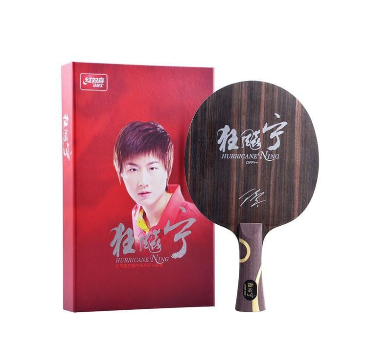 DHS Hurricane Ning Table tennis racket racquet sports ping pong paddles dhs racket world champion Ding Ning Ebony