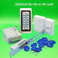 Metal IP68 Waterproof Full 125khz Rfid Door Lock Control System Kit Yli NO NC Long Electric