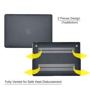 Image 3 - Чехол для MacBook Air 13 дюймов 2018 выпуска A1932, мягкий на ощупь легкий жесткий чехол для новой MacBook Air 13 дюймов с Touch ID