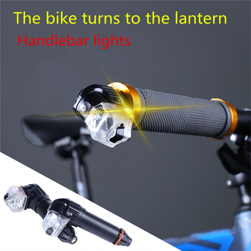 Bike Bicycle Light LED Turn Signals Light Handle Bar End Cover Plug Hand Block Caps For Triumph A2