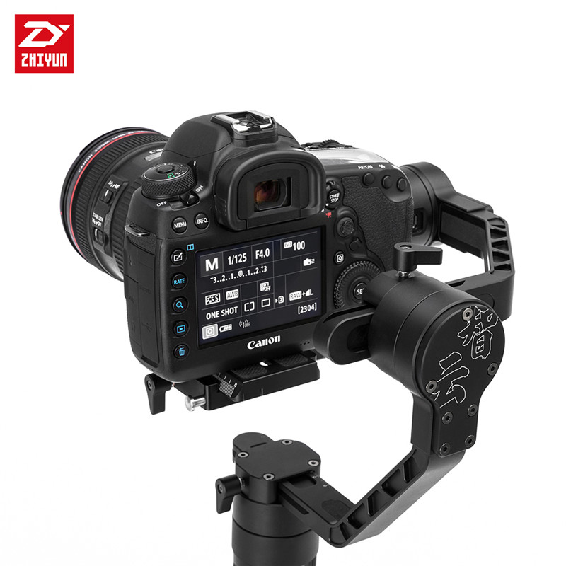 In Stock ! Zhiyun Crane  2 3-Axis Gyro Stabilizer Handheld Gimbal with Real Time Follow Focus Control 3.2KG for DSRL Camera yuneec q500 typhoon quadcopter handheld cgo steadygrip gimbal black