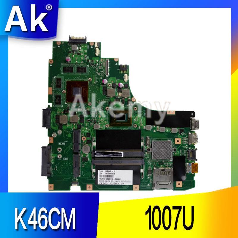 AK K46CM carte mère pour ASUS ordinateur portable carte mère K46CM A46C K46CA carte mère originale testé notebook 1007U GM