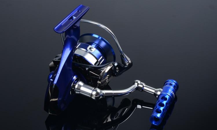CASTFUN Max Drag 30KG Full Metal 11BB 6000 7000 Series Reel Fishing Spinning Jigging Reel Trolls Reel Fishing Reel Saltwater