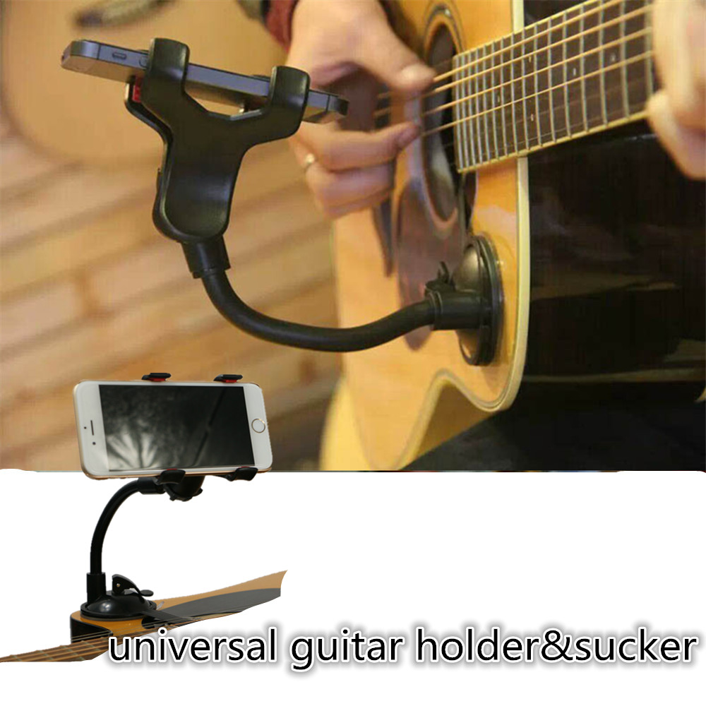 Universal Microphone Sucker Mobile Phone Guitar Support