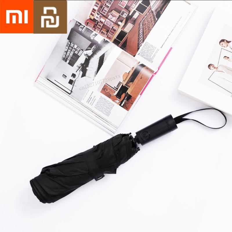 Xiaomi Mijia KG Automatic Rainy Umbrella Sunny Rainy Summer Aluminum Windproof Waterproof UV Parasol Sunshade Man Woman-in Smart Remote Control from Consumer Electronics