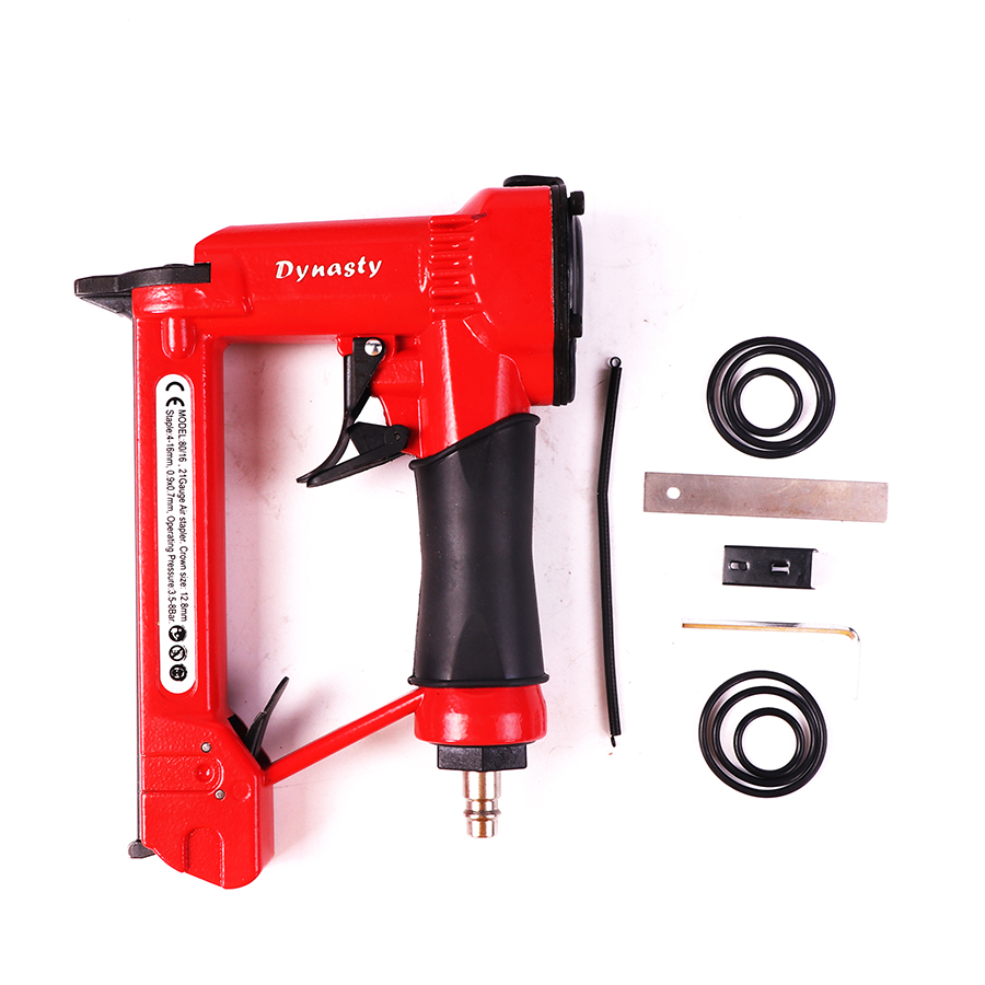 Fast Deliver 1/2 Air Stapler 8016 Pneumatic Fine Wire Crown Stapler Gun Air Nailer U Style Nails Power Tools