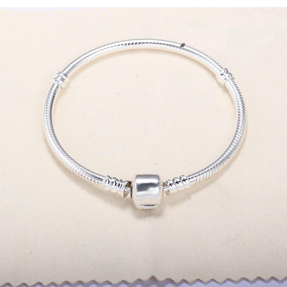 Sterling 925 Silver Bracelet For Women Snake Bone Chain Kehribar Pulseras De Plata De Bijoux Silver 925 Jewelry Silver Bracelet