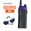 New Walkie Talkie Baofeng UV-8HX,Baofeng UV-5r High Power 8w VHF UHF Ham Radio Sister baofeng BF-uvb2 uv-5x uv-5re Plus bf-f8