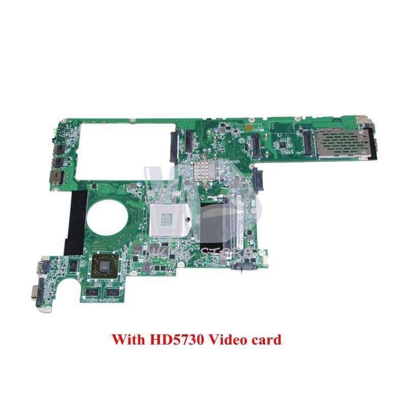 NOKOTION 11S1102136 DAKL3AMB8G1 Main board For Lenovo Y560 Laptop Motherboard HM55 DDR3 HD5730 Video card 1GB