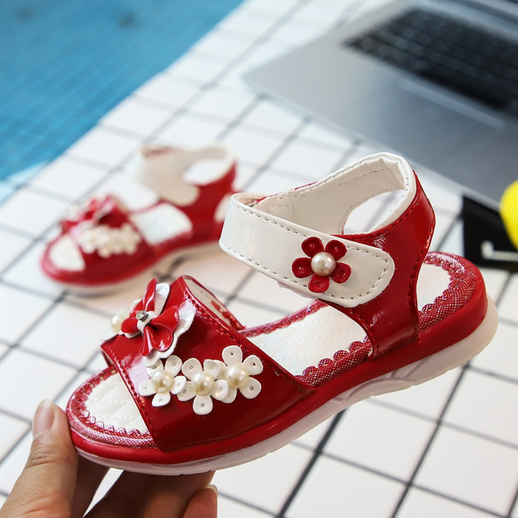 MUQGEW Sandals for Girls Party Pearl Bowknot Shoes for Kids Birthday Flower Shoes for Children Princess Sandals Shoes for KidsMUQGEW Sandals for Girls Party Pearl Bowknot Shoes for Kids Birthday Flower Shoes for Children Princess Sandals Shoes for Kids