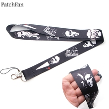 Patchfan The Godfather movie neck lanyards for keys glasses card holder bead keychain phones cameras webbing A1273