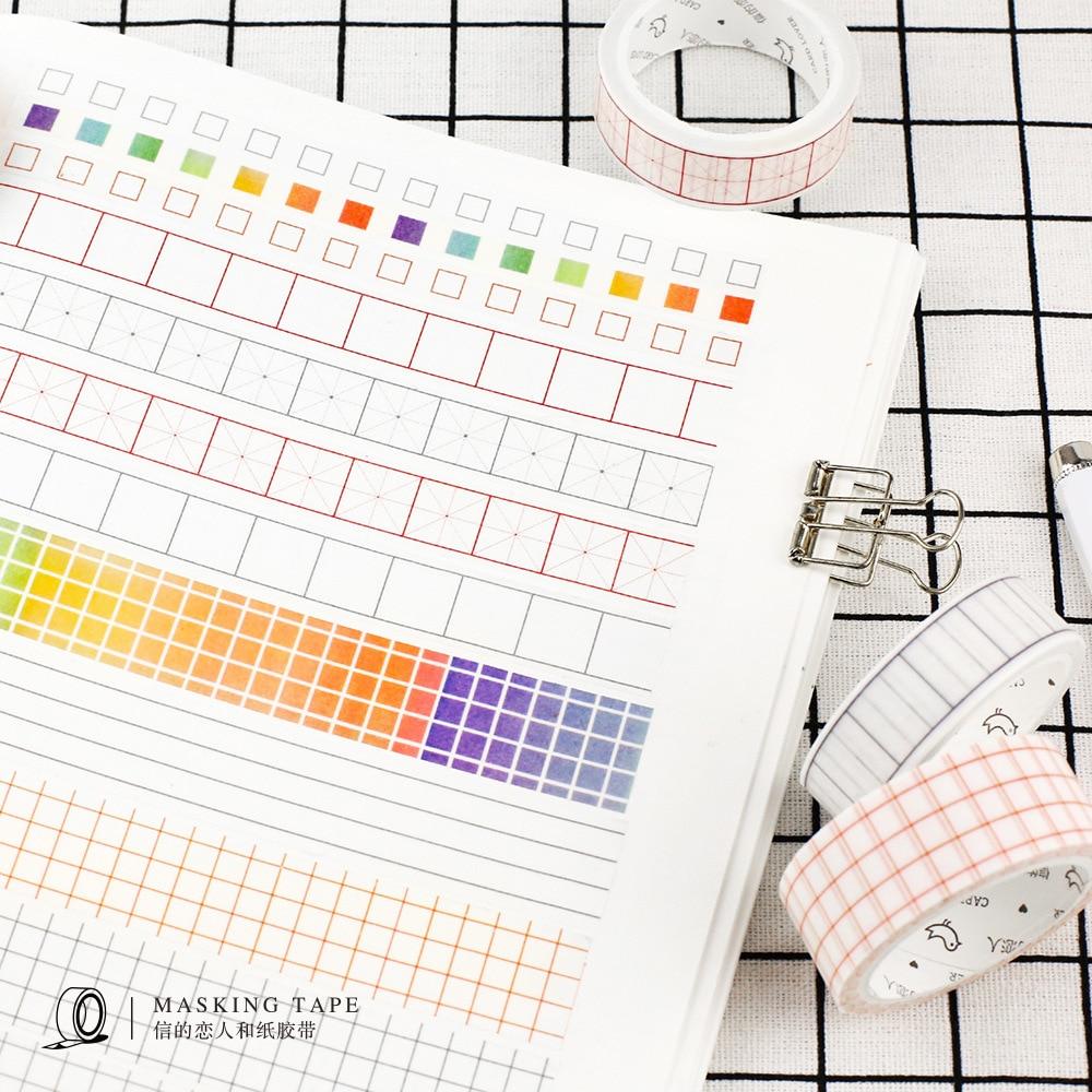 1 Roll NOTE TAPE Kawaii  Agendas Japanese Washi Tape DIY Decorative Shredded Paper Office Adhesive Tapes Masking Tape Stationery