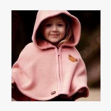2015 novo casaco de lã poncho casaco capa Do Bebê do bebê do bebê meninos e meninas 1-8 anos de idade das crianças Marcas de roupas Livre grátis