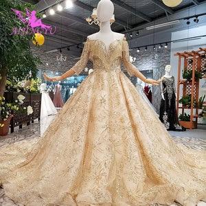 Image 5 - AIJINGYU luxe robe de mariée dentelle amour boutique en ligne chine irlande pas cher fabriqué en chine nouveau matériel de robe robes de mariée près de chez moi