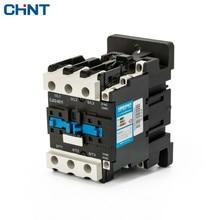 CHINT Coil Voltage 220V 380V 110V AC Contactor 65a CJX2-6511 LC1 CJX4  cjx2 9511 low voltage ac contactor without cover dust cover lc1 95a 220v 380v 50hz 60hz silver point