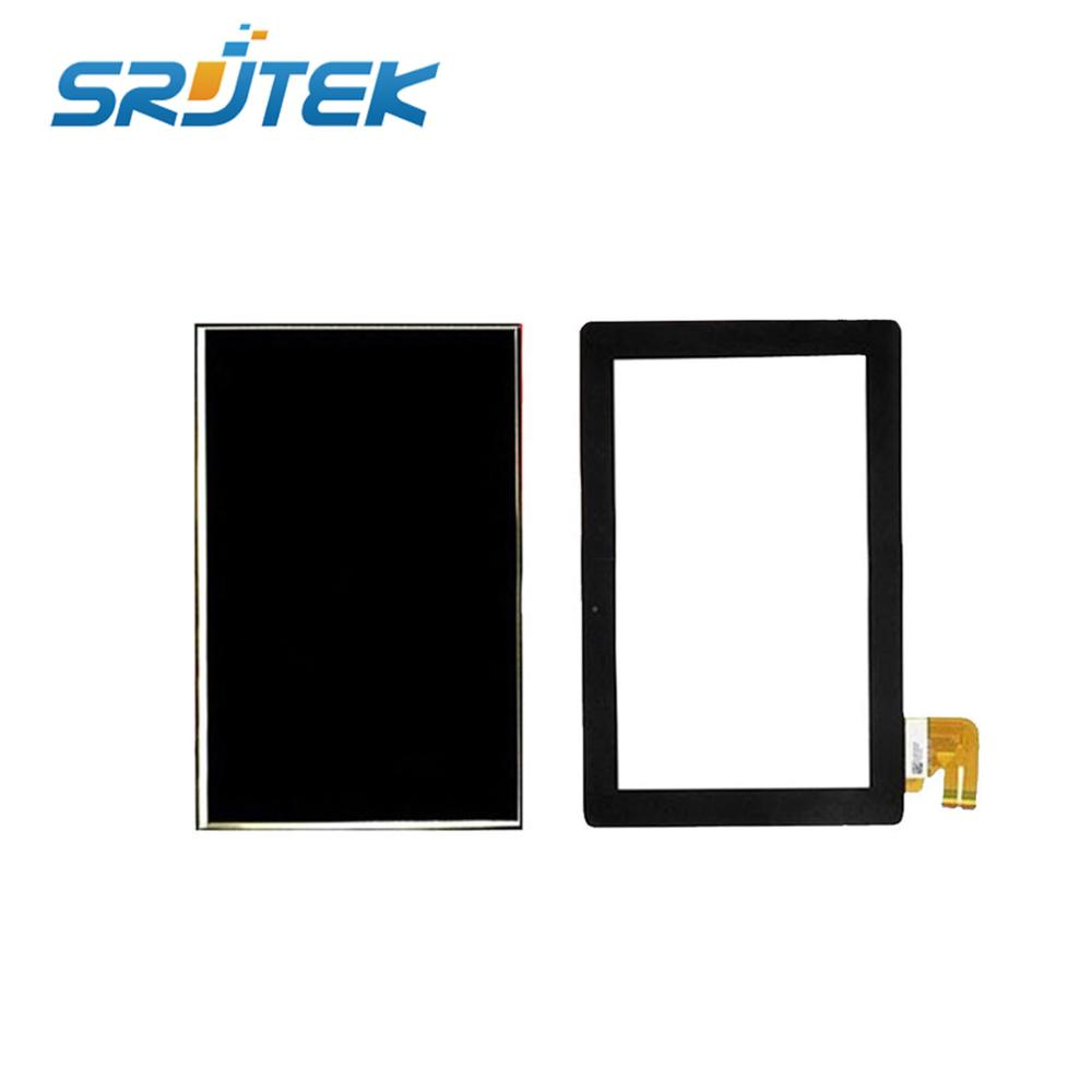 10.1'' Inch New For Asus Eee Pad Transformer TF300 TF300TG TF300T HSD101PWW1 LCD Display With G01 Ver Touch Screen Digitizer new touch screen digitizer lcd display with frame for asus eee pad transformer tf101 tracking number good quality