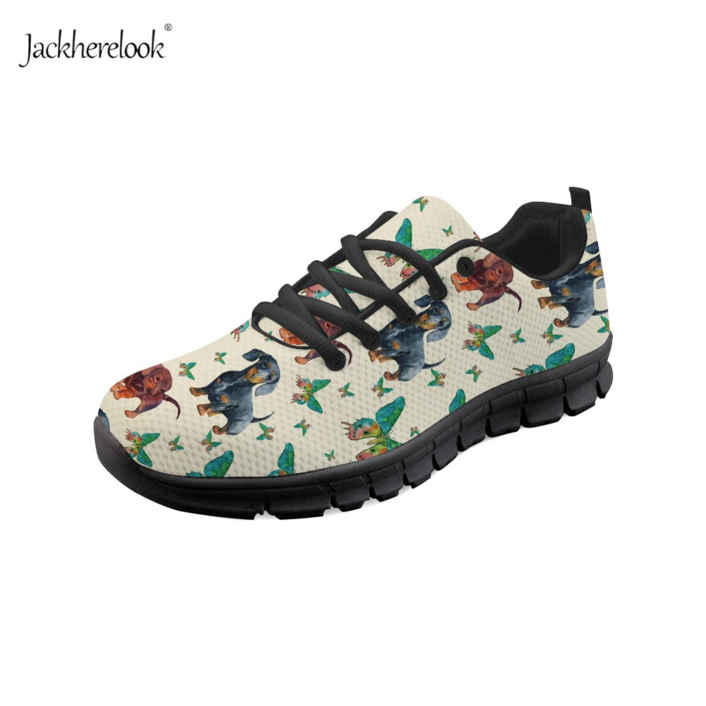 Methodical Jackherelook Women Running Shoes Butterfly Dachshund Print Breathable Outdoor Sport Shoes Womens Air Mesh Fitness Flat Shoes As Effectively As A Fairy Does Sports & Entertainment Running Shoes