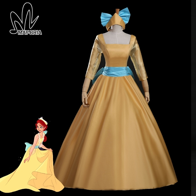 cartoon movie Anastasia cosplay costume fancy Halloween costumes for ...