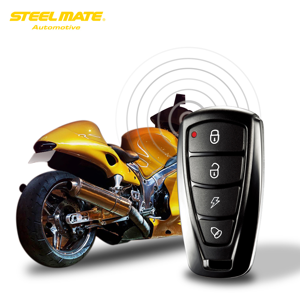 steelmate 986f 1 way motorcycle alarm anti theft security. Black Bedroom Furniture Sets. Home Design Ideas