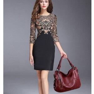 Image 5 - Luksusowe torebki Tassel torebki damskie Designer Sac A Main Casual duże torba z rączkami torebka damska skórzana torebka Vintage na ramię dla kobiet