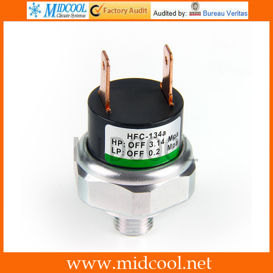 Universal R134a High / Low Pressure Switch Sensor A/C AC Air Conditioning 9mm/11mm Thread