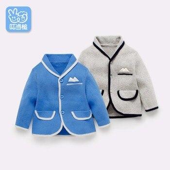 Dinstry 2018 newborn sweater jacket children spring and autumn clothing baby suit children jacket