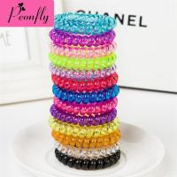 100pcs Lot Korean Candy Color Large Telephone Line Jewelry Manufacturers Wholesale Hair Headdress Girls Hair Accessories