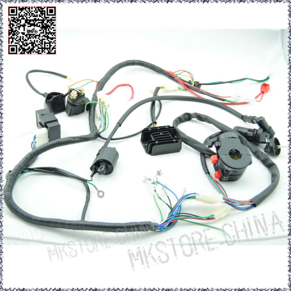 250cc Quad Electrics 150 200cc Zongshen Lifan Ducar Razor Cdi Coil 140cc Wiring Diagram Wire Harness Free Shipping In Atv Parts Accessories From Automobiles Motorcycles On