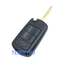 Replacement Flip Key Shell For Land Rover Discovery LR3 Case range rover Sport Entry Keyless Fob