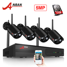 ANRAN Wireless CCTV Camera System H.265 5.0MP NVR Video Surveillance System WIFI Waterproof Night Vision Security Camera System