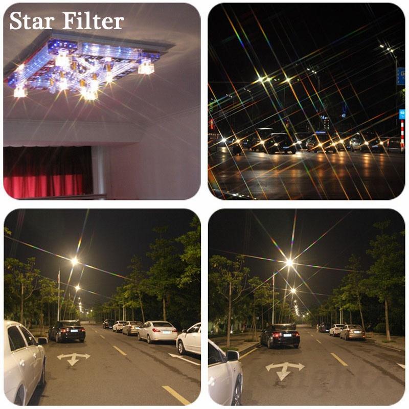 KnightX Star Filter 52MM 58MM 67MM 4 6 8 Línea de puntos para Canon - Cámara y foto - foto 4