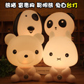 Big Hero 6 Baymax table lamp light A typical cartoon lamp night light and smart dogs, bears, fairy rabbit Kung Fu Panda