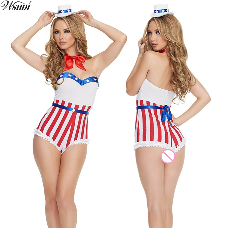 Navy Sailor Costume Women Sexy Halloween Costumes Fantasias Party Game Carnival Costumes Jumpsuits+Neckwear+Hat