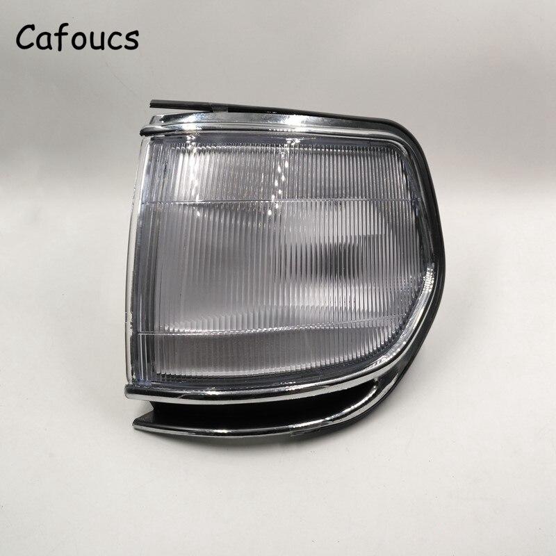 Cafoucs For Toyota Land Cruiser FZJ80 HZJ80 HDJ80 Series Corner Light Right and left side 1990-1999 Car Lamp fog lamp fog light left 81221 60031 right 81211 60112 for toyota land cruiser 100 lc100 1999 2006