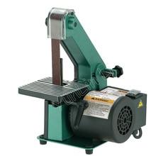 Ленточный шлифовальный станок для ремень для деревообработки шлифовальный станок полировщик металла медный мотор шлифовальный станок фаски