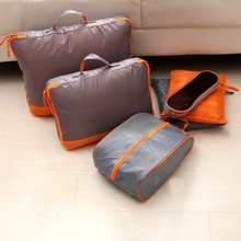 Free shipping BF010 Fashion Travel bag travel large capacity folding finishing packaged combination 6pcs/set