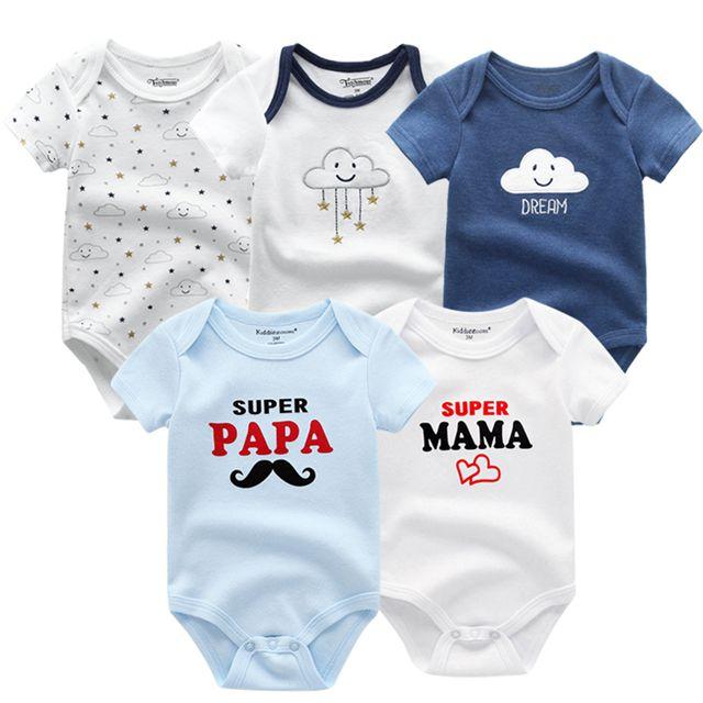 Kiddiezoom детские комбинезоны пижамы для маленьких девочек Дети Bebe Infantil одежда для новорожденных одежда из хлопка Одежда для маленьких мальчиков, Товары для детей - Цвет: baby boy romper5608